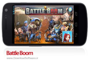 دانلود بتل بوم Battle Boom بازی استراتژیک انلاین جدید برای اندروید