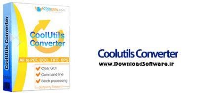 دانلود Coolutils Converter نرم افزار تبدیل اسناد مختلف در ویندوز