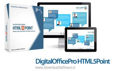 دانلود DigitalOfficePro HTML5Point نرم افزار تبدیل پاورپوینت به HTML5