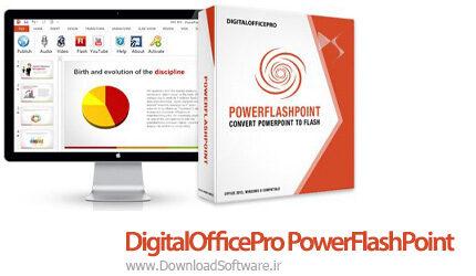 دانلود DigitalOfficePro PowerFlashPoint نرم افزار تبدیل پاورپوینت به فلش