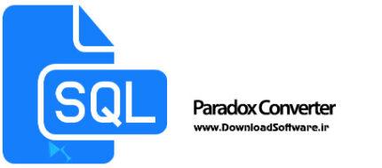 دانلود Paradox Converter نرم افزار تبدیل فایل های دیتابیس