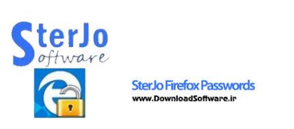 دانلود SterJo Firefox Passwords نرم افزار ذخیره سازی پسورد مرورگر فایرفاکس