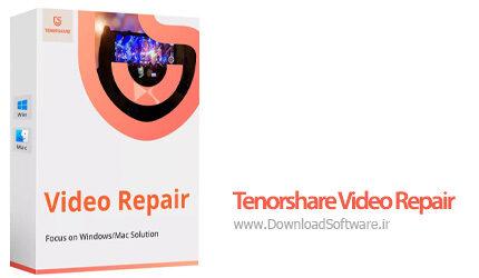 دانلود Tenorshare Video Repair نرم افزار تعمیر ویدیوهای خراب
