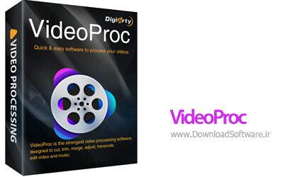 دانلود VideoProc نرم افزار پردازش فیلم برای کامپیوتر