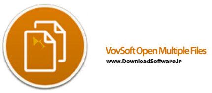 دانلود VovSoft Open Multiple Files + Portable نرم افزار باز کردن همزمان چند فایل