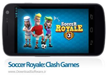 دانلود Soccer Royale - Stars of Football Clash بازی فوتبال آنلاین اندروید