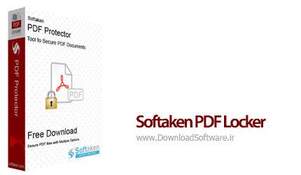 دانلود Softaken PDF Locker نرم افزار محافظت از فایل های پی دی اف با رمز عبور