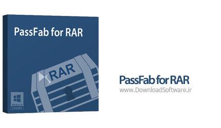 دانلود PassFab for RAR - نرم افزار بازیابی سریع رمز فراموش شده RAR