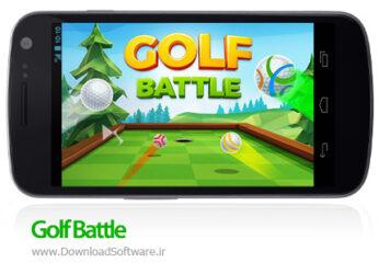 دانلود گلف بتل Golf Battle بازی گلف آنلاین اندروید