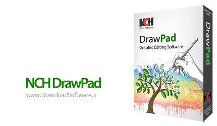 دانلود NCH DrawPad Pro - نرم افزار طراحی و نقاشی برای ویندوز
