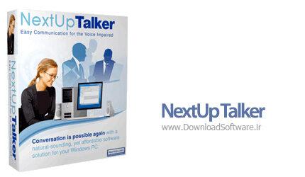 دانلود NextUp Talker - نرم افزار تبدیل متن به گفتار برای ویندوز