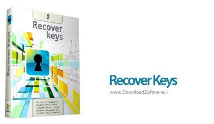 دانلود Recover Keys Premium + Portable - نمایش سریال نرم افزار