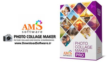 دانلود AMS Software Photo Collage Maker Pro – نرم افزار ساخت تصاویر کلاژ