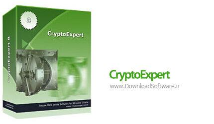 دانلود CryptoExpert - نرم افزار حفاظت از فایلها و فولدرها