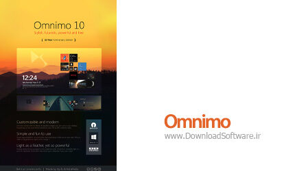 دانلود Omnimo – برنامه امنیمو ؛ ابزار زیباسازی دسکتاپ