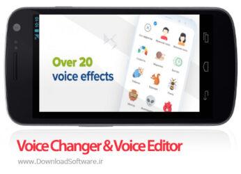 دانلود Voice Changer & Voice Editor – 20+ Effects – ابزار تغییر صدا برای اندروید