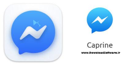 دانلود Caprine – نرم افزار چت و گفتگو در شبکه اجتماعی فیسبوک