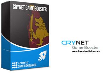 دانلود Crynet Game Booster – نرم افزار بهینهسازی تجربه بازیهای رایانهای