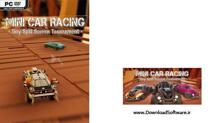 دانلود بازی Mini Car Racing Tiny Split Screen Tournament برای PC