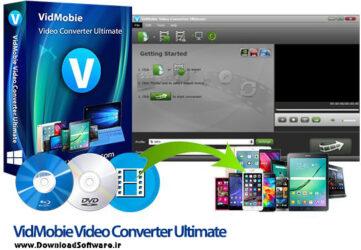 دانلود VidMobie Video Converter Ultimate – نرم افزار تبدیل فرمت ویدیو برای کامپیوتر