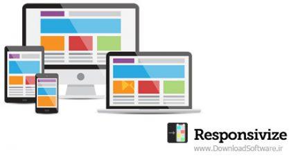 دانلود Responsivize – نرم افزار تست ریسپانسیو وب سایت