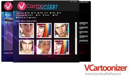 دانلود VCartoonizer – نرم افزار ساخت ویدیوهای کارتونی
