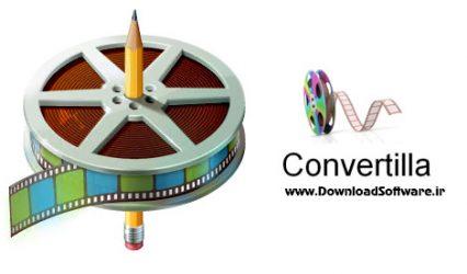 دانلود Сonvertilla – ابزار رایگان تبدیل فرمتهای ویدیویی