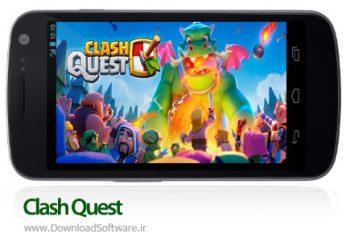 دانلود بازی کلش کوئست Clash Quest بازی استراتژیک آنلاین اندروید