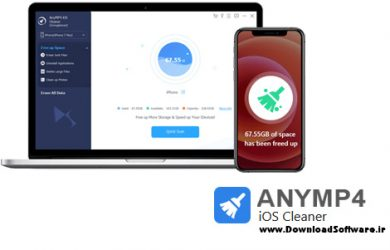 دانلود AnyMP4 iOS Cleaner x86/x64 - برنامه پاکسازی دستگاه های IOS